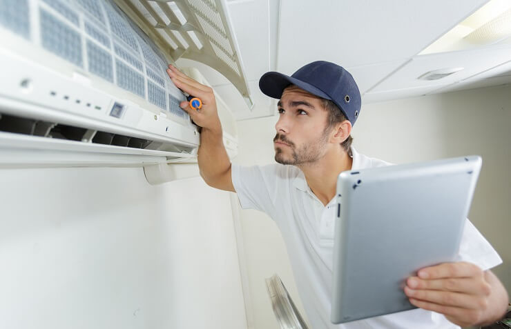 Heating and cooling repair Detroit
